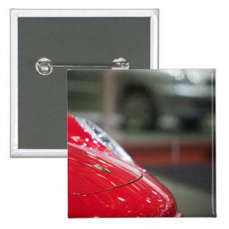 SWITZERLAND, GENEVA: 75th Annual Geneva Auto 2 2 Inch Square Button