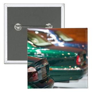 SWITZERLAND, GENEVA: 75th Annual Geneva Auto 4 2 Inch Square Button