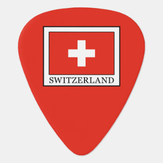 Switzerland Guitar Pick
