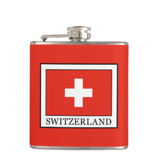 Switzerland Hip Flask