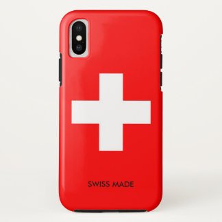 Switzerland iPhone X Case