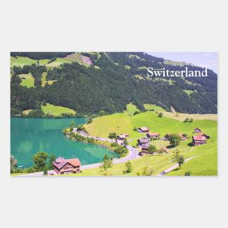 Switzerland landscape sticker