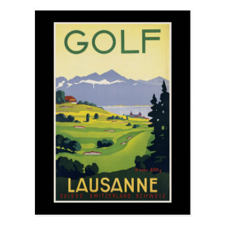 Switzerland Lausanne Postcard