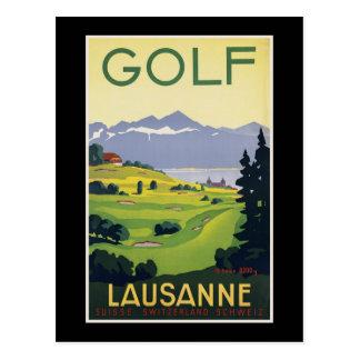 Switzerland Lausanne Postcard