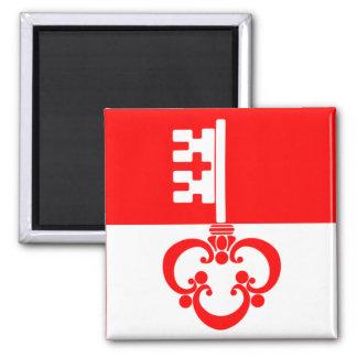 Switzerland Obwalden Flag Fridge Magnet