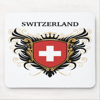 Switzerland personalize mouse pad