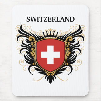 Switzerland [personalize] mouse pad