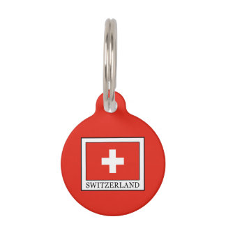 Switzerland Pet Tag