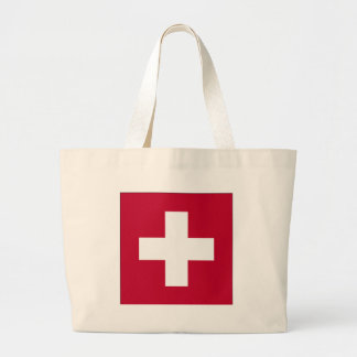 Switzerland Products & Designs! Large Tote Bag