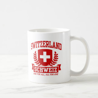 Switzerland Schweiz Mugs
