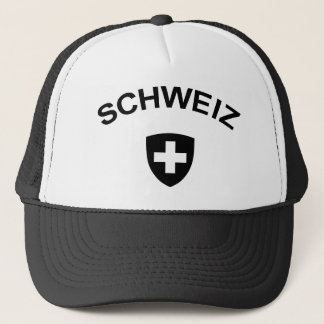 Switzerland Schweiz Trucker Hat