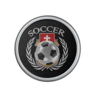 Switzerland Soccer 2016 Fan Gear Bluetooth Speaker