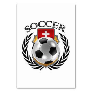 Switzerland Soccer 2016 Fan Gear Card
