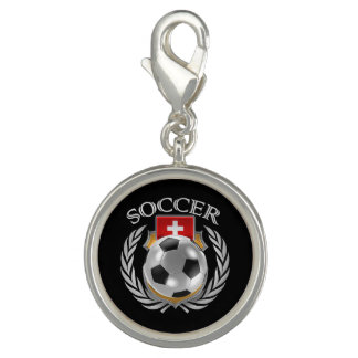 Switzerland Soccer 2016 Fan Gear Charms