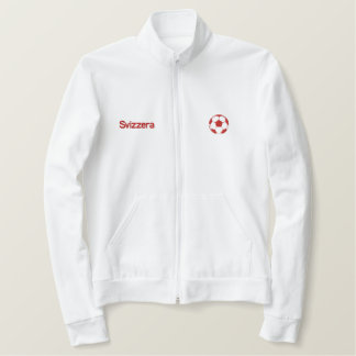 Switzerland Soccer - Brazil 2014 Nati World Cup Embroidered Jacket