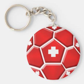 Switzerland Soccer - Brazil 2014 Nati World Cup Keychain