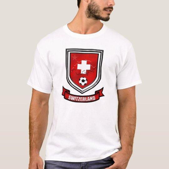Switzerland soccer shield Swiss Crest Presents T-Shirt