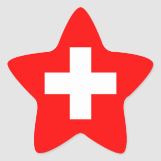 SWITZERLAND STAR STICKER