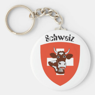 Switzerland Suisse Svizzera Svizra key supporter Keychain