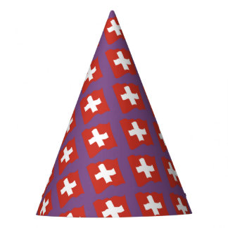 Switzerland - Suisse - Svizzera - Svizra party Party Hat