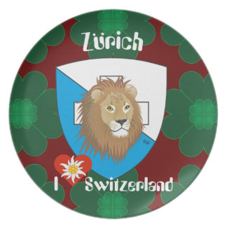 Switzerland Suisse Svizzera Svizra Switzerland Dinner Plates