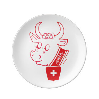 Switzerland Suisse Svizzera Svizra Switzerland Plate