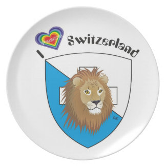 Switzerland Suisse Svizzera Svizra Switzerland Plates