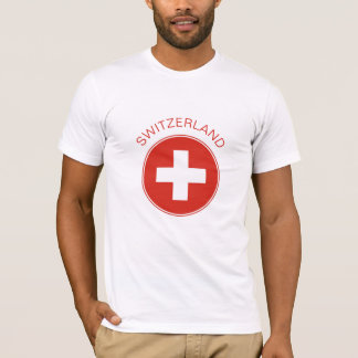 Switzerland - Swiss Flag T-Shirt. T-Shirt