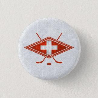 Switzerland Swiss Ice Hockey Badge Hockey Pin