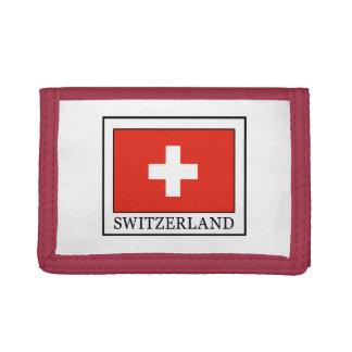 Switzerland Tri-fold Wallet