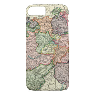 Switzerland Vintage Map iPhone 7 Barely There Case
