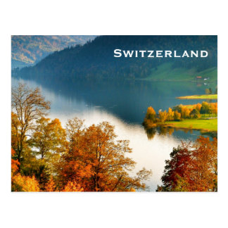Switzerland Vintage Travel Tourism Add Postcard