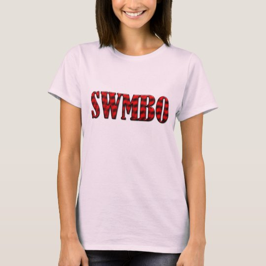 SWMBO - She Who Must Be Obeyed T-Shirt