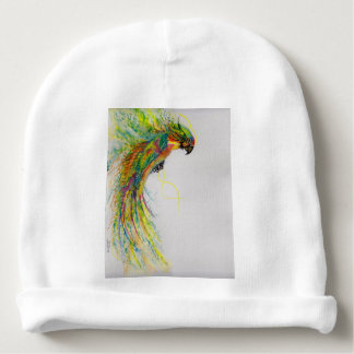 Swooping Parrot Baby Beanie
