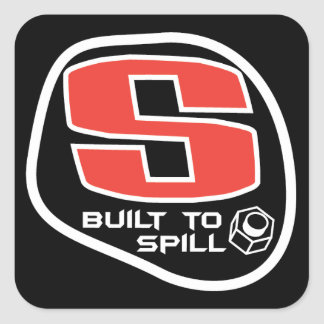 Swoozle - Built To Spill Square Stickers