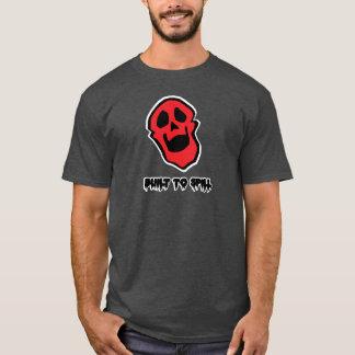 Swoozle Skull Buddy Men's Basic Dark T-Shirt