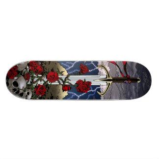 Sword and Roses Skateboard