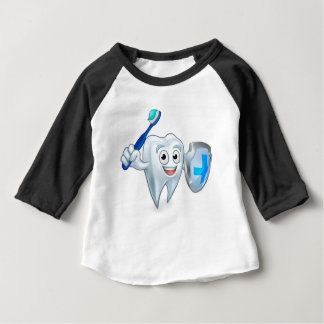 Sword and Shield Tooth Mascot Baby T-Shirt