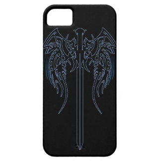 Sword and wings tribal cool awesome tattoo art fan iPhone 5 case