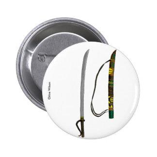 Sword art badge 2 inch round button