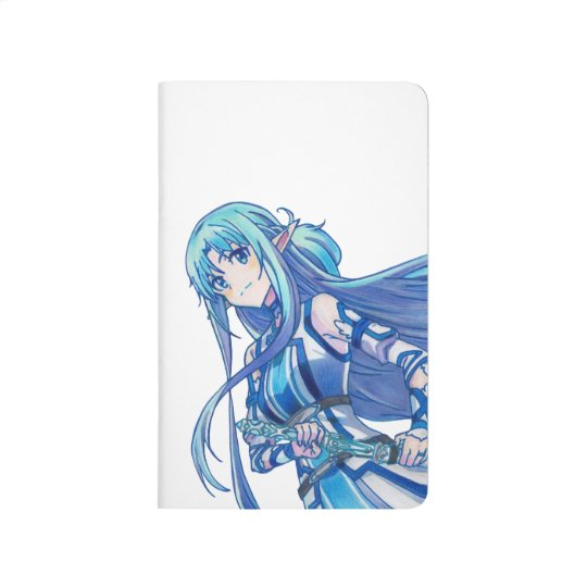 Sword Art Online Asuna Print Design Journal