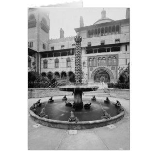 Sword Fountain, Ponce de Leon Hotel, St. Augustine Note Card