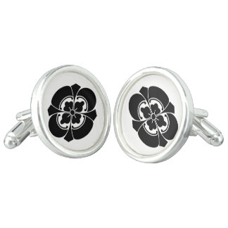 Sword Japanese quince Cufflinks