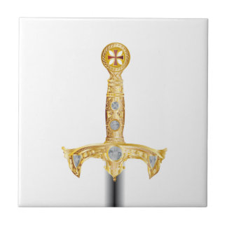 Sword of an Knight Templar Tile