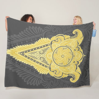 Sword of flowers,Tarot, spirituality,newage Fleece Blanket