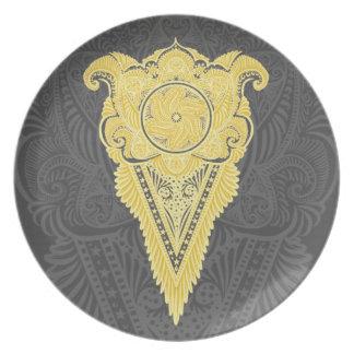 Sword of flowers,Tarot, spirituality,newage Plate