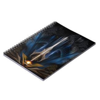 Sword OF Light Fractal Art Notebook