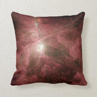 Sword of Orion Nebula Throw Pillow