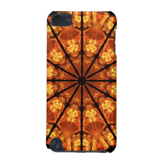 Sword of Passions Mandala, Abstract Orange Black iPod Touch (5th Generation) Cover