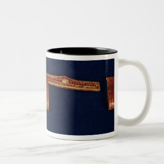 Sword ornaments from the Treasure of Childeric I ( Two-Tone Coffee Mug